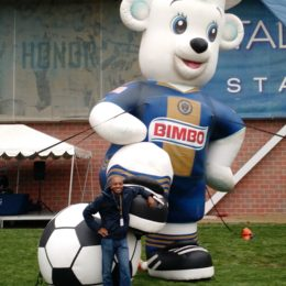 Me during my first visit to Talen Energy Stadium