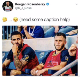 Rosenberry suspended tweet - Union Rumors