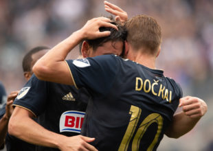 In pictures: Union 4-0 Vancouver Whitecaps