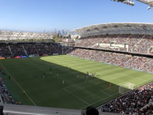 Union v. LAFC June 30, 2018. Photo: Peter Andrews