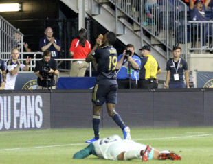 In pictures: Union 3-0 Chicago Fire