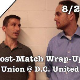 PSP Postgame Show: Union 2-0 D.C. United
