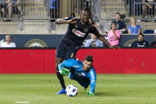 In pictures: Union 1-0 New England Revolution