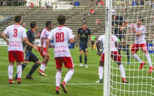 Mahoney's 1st professional goal begins he comeback against NY