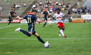 Fontana v Red Bulls 2 in Bethlehem