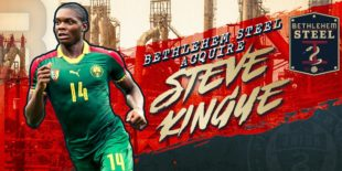 Bethlehem acquires defender Steve Kingue on loan