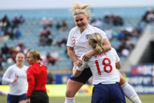 In pictures: SheBelieves Cup- England 2-1 Brazil