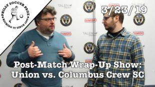 PSP Postgame Show: Union 3 – Columbus Crew SC 0