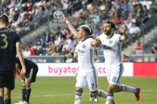 MLS newcomer Brian Fernández bags his second goal in as many games.