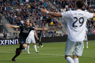 In pictures: Union 3-1 D.C. United