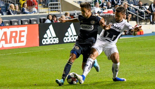 Selmir Miscic, the 16 yr old that came up through the Union Academy and Bethlehem Steel, looked seasoned on the field for his first game in a Union Jersey.