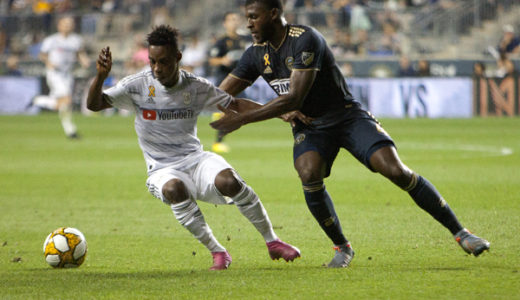 In Pictures: Philadelphia Union 1-1  LAFC