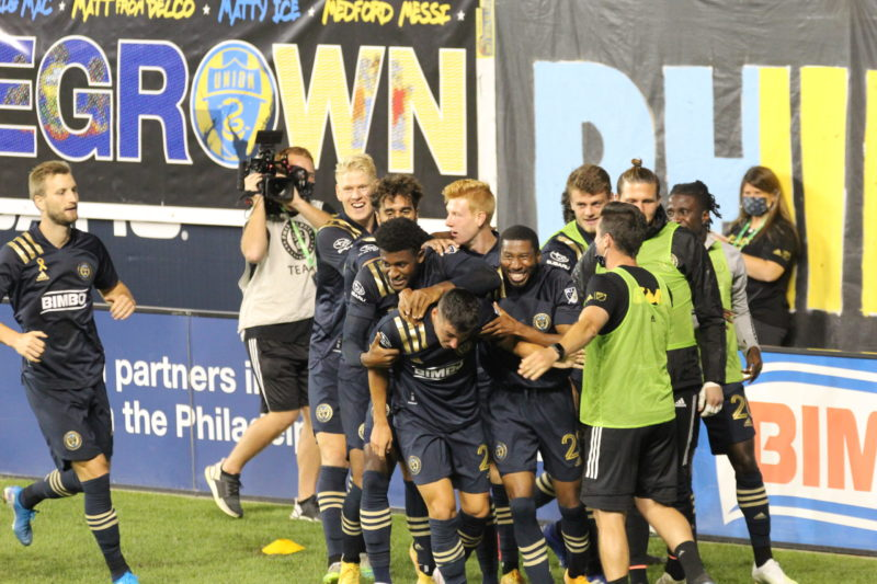 In pictures: Philadelphia Union 2-1 New England Revolution
