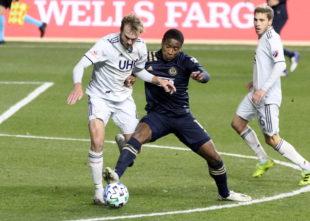 Match report: Philadelphia Union 1-1 New England Revolution
