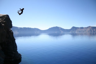 The Overlap: Cliff diving