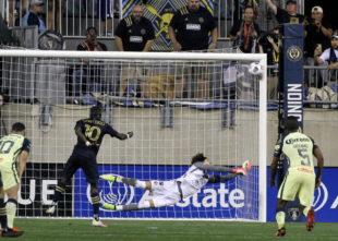 Match report: Philadelphia Union 0-2 Club America (0-4)